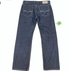 Diesel MOD KORRIK Straight Leg Button Fly Jeans